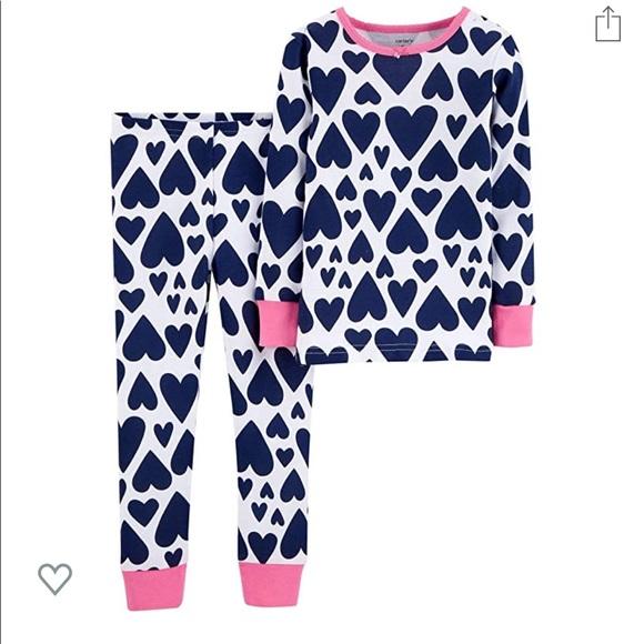 NWT Baby Gap Flamingo Short Pajamas PJs 2PC Baby Toddler Girl